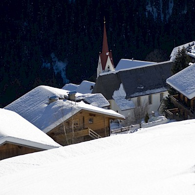 Winter_Defereggental_Osttirol_Dorf St.Veit